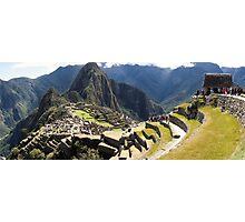 Machu Picchu - Peru - August 2014 Photographic Print
