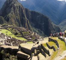 Machu Picchu - Peru - August 2014 Sticker