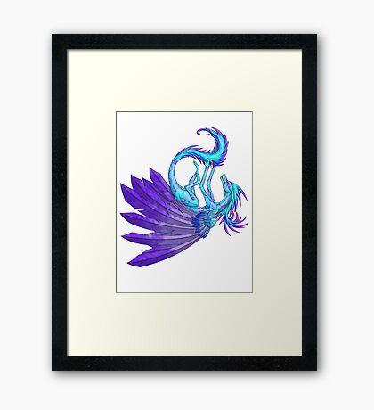 Playful Dragon Framed Print