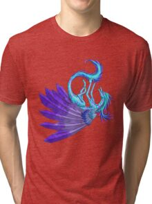 Playful Dragon Tri-blend T-Shirt