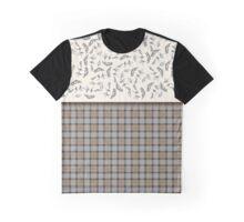 Claire and Jamie wedding fabrics Graphic T-Shirt