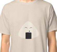 Cute onigiri rice face Classic T-Shirt