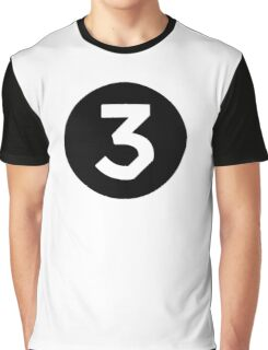 Chance The Rapper - Chance 3 Coloring Book Black Graphic T-Shirt