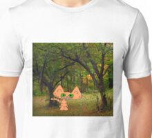 Cat Enjoying The Fall Unisex T-Shirt