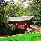 Red Covered Bridge by Bill Wetmore