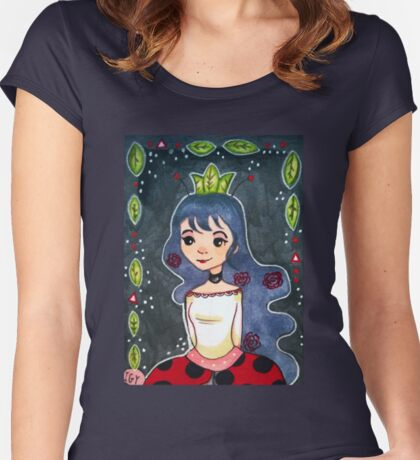 Princess Ladybug Women's Fitted Scoop T-Shirt
