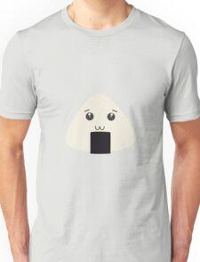 kawaii onigiri rice face Unisex T-Shirt