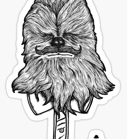 Chewbacca Sticker
