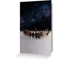 Eleven Doctors Greeting Card
