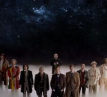 Eleven Doctors Sticker