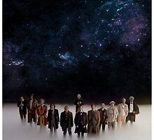Eleven Doctors by sonicbiro