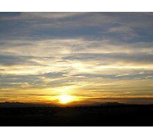 Husband's Last Sunset Photographic Print