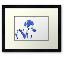 Silhouette Series: The Photographer Framed Print