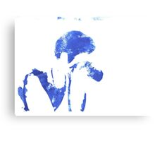 Silhouette Series: The Photographer Canvas Print