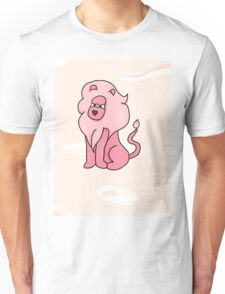 Lion With a Butterfly (mane background) Unisex T-Shirt