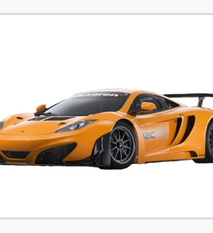 McLaren MP4-12C Sticker