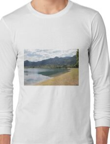 lake scape Long Sleeve T-Shirt