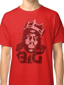 Biggie It Was All A Dream (RED) Classic T-Shirt