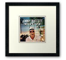 jimmy buffett photos farwson Framed Print