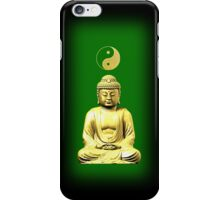 Buddha and Yin Yang green phone cases iPhone Case/Skin
