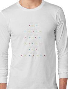 Friends shirt : flirt like Joey dress like Rachel Joke like Long Sleeve T-Shirt