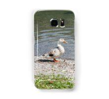 duck on the lake Samsung Galaxy Case/Skin