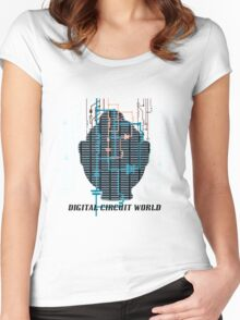 Digital Circuit World Women's Fitted Scoop T-Shirt