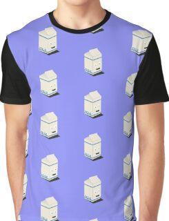 Cute kawaii milk carton Graphic T-Shirt