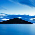 Veli Osir Island at dawn, Losinj Island, Croatia. by Ian Middleton