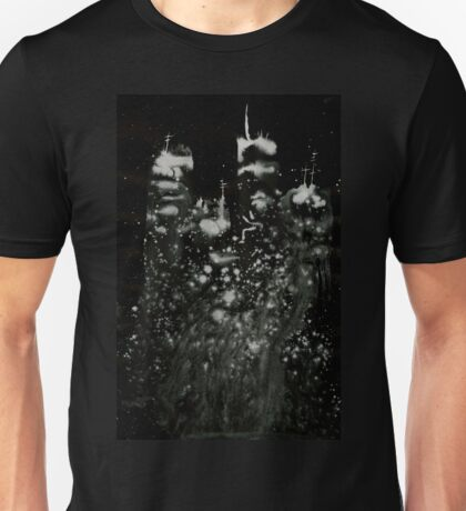 0119 - Brush and Ink - City of the Missed Unisex T-Shirt