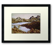 Dove Lake, Cradle Mountain, Tasmania Framed Print