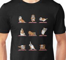 English Bulldog Yoga T-shirt Unisex T-Shirt