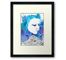 Dreaming Blue  Framed Print