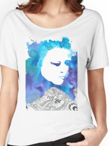 Dreaming Blue  Women's Relaxed Fit T-Shirt