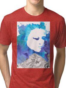 Dreaming Blue  Tri-blend T-Shirt