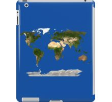 Low Poly World Map iPad Case/Skin