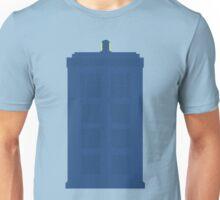 Simplistic Tardis Unisex T-Shirt