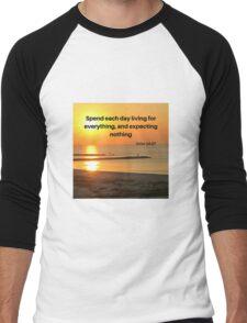 Sunrise and Inspiration Men's Baseball ¾ T-Shirt