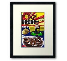 fudge dredd Framed Print