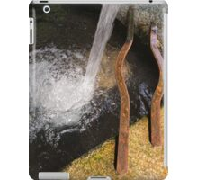 old fountain iPad Case/Skin