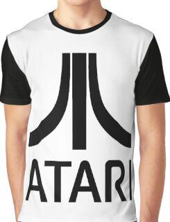 Atari Black Graphic T-Shirt