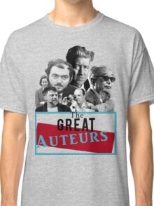 Great Auteurs - Filmmakers (without outline) Classic T-Shirt