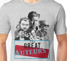 Great Auteurs - Filmmakers (without outline) Unisex T-Shirt
