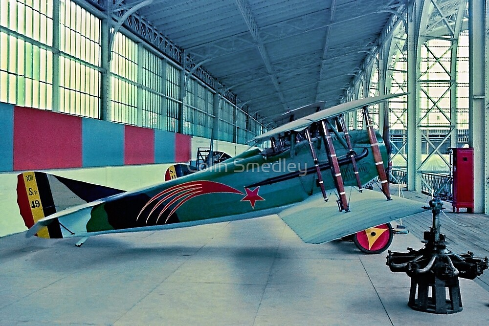 SPAD S.XIII C.1 SP-49 at Brussels by Colin Smedley