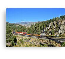 Westbound Through Donner Pass Canvas Print