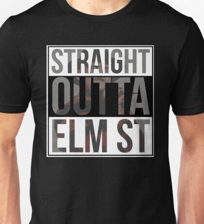 Straight Outta Elm Street Unisex T-Shirt