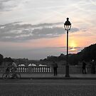 Paris Sunset by Helen Barnett