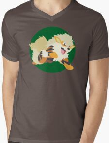 Arcanine Mk2 Mens V-Neck T-Shirt