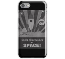 Space adventures, In Space!  iPhone Case/Skin