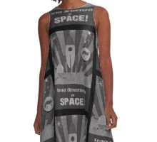 Space adventures, In Space!  A-Line Dress